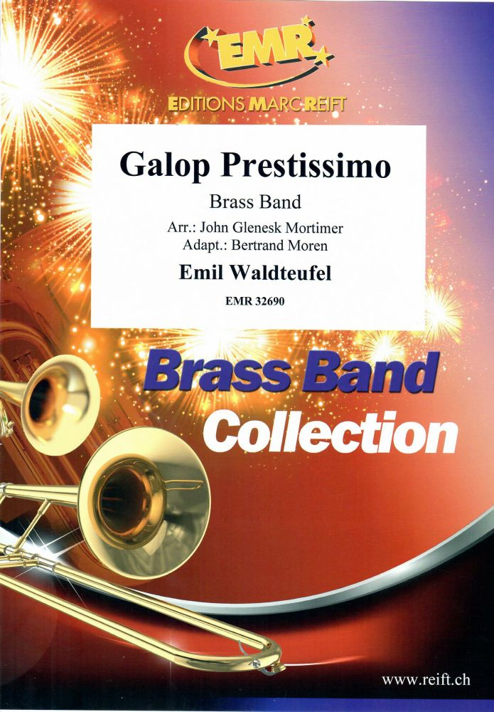 Emile Waldteufel: Galop Prestissimo: Brass Band: Score and Parts