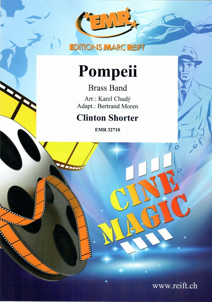 Clinton Shorter: Pompeii: Brass Band: Score and Parts