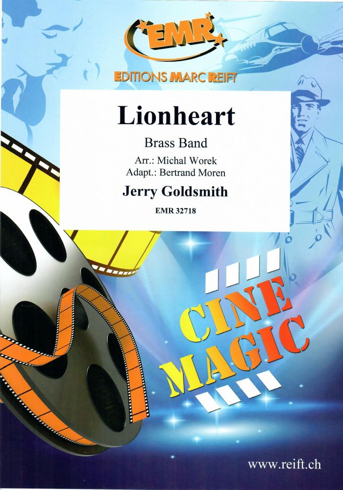 Jerry Goldsmith: Lionheart: Brass Band: Score and Parts