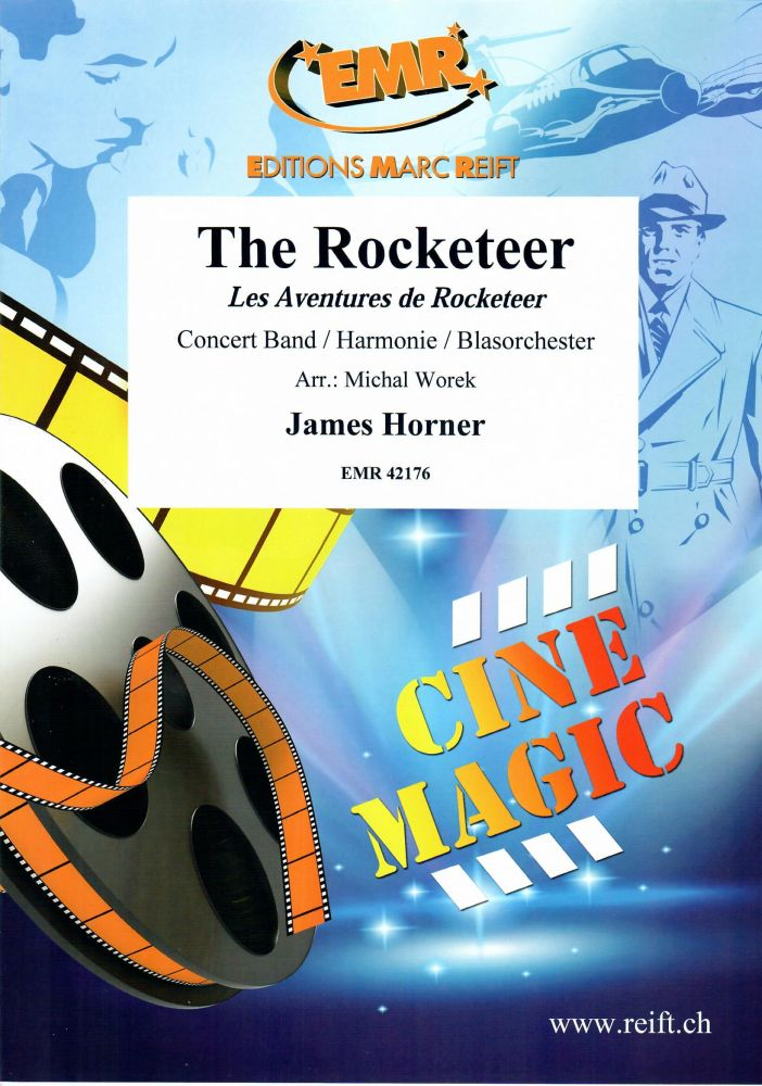 James Horner: The Rocketeer: Concert Band: Score and Parts