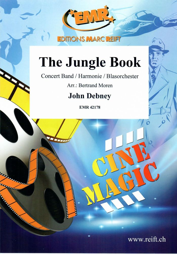 John Debney: The Jungle Book: Concert Band: Score and Parts