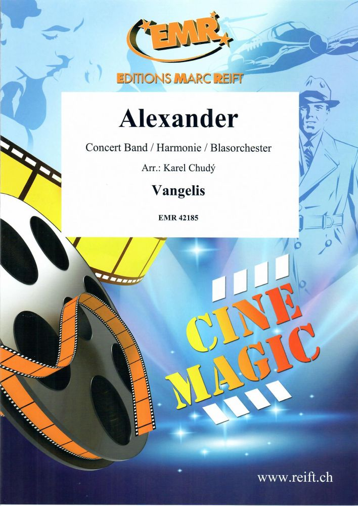 Vangelis: Alexander: Concert Band: Score and Parts