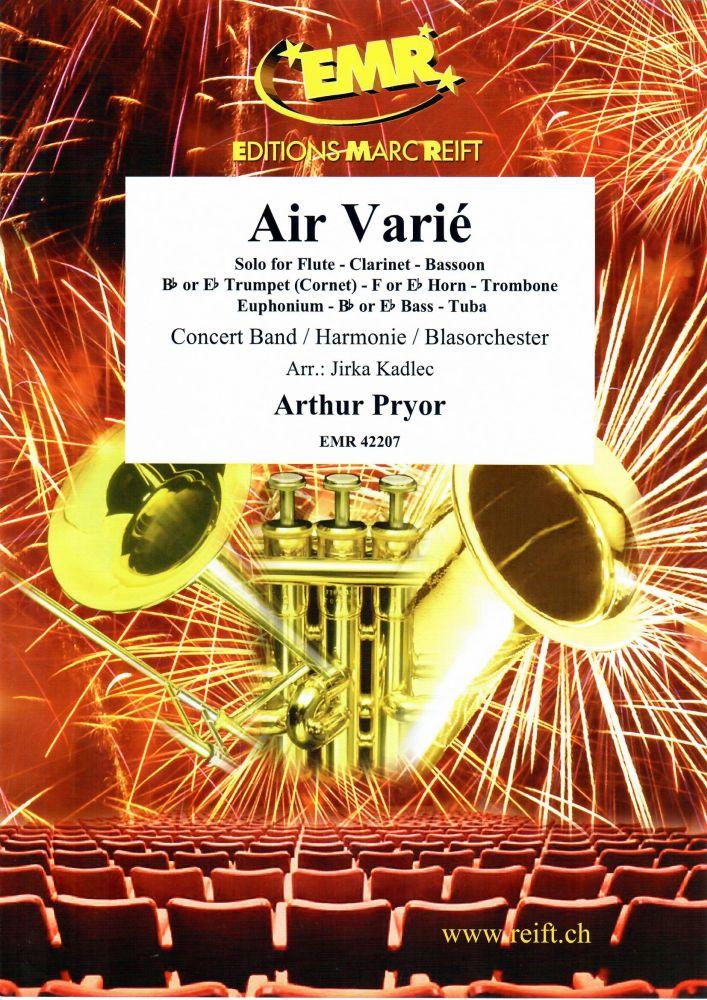 Arthur Pryor: Air Varié: Concert Band: Score and Parts