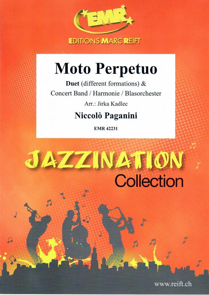 Niccolò Paganini: Moto Perpetuo: Concert Band: Score and Parts