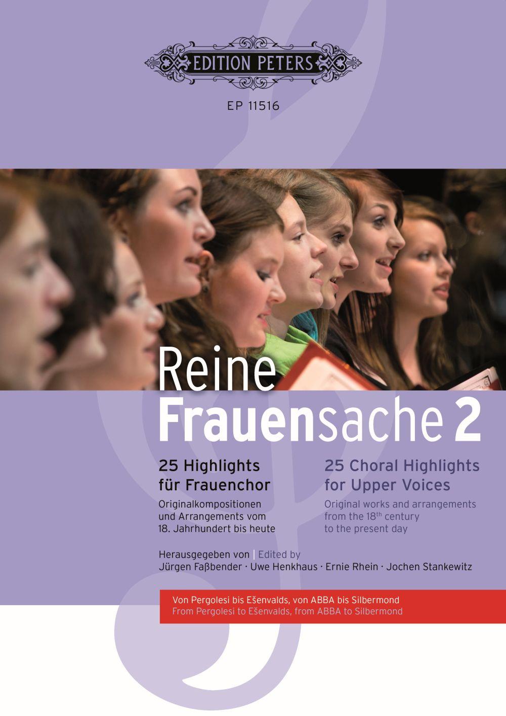 Reine Frauensache 2: Women's Choir: Vocal Score