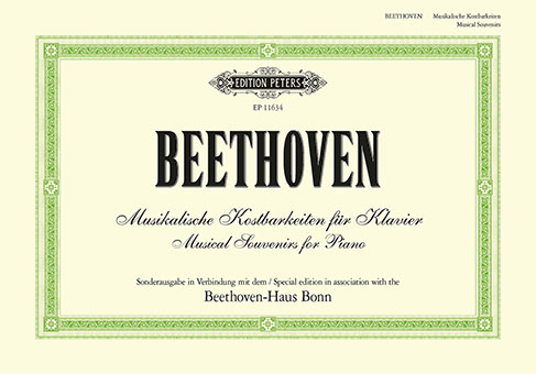 Ludwig van Beethoven: Musical Souvenirs for Piano: Piano: Instrumental Album