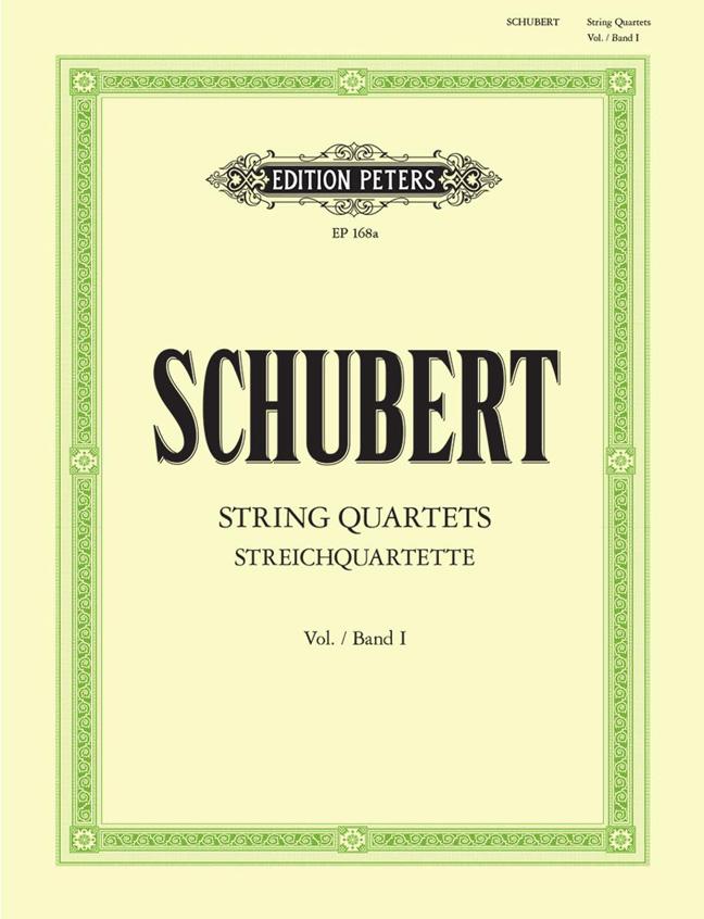 Franz Schubert: String Quartets Op.29/125 Complete - Volume 1: String Quartet: