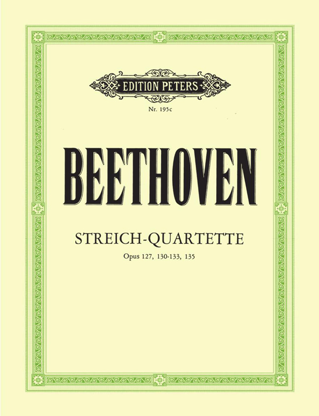 Ludwig van Beethoven: String Quartets Vol.3: String Quartet: Parts
