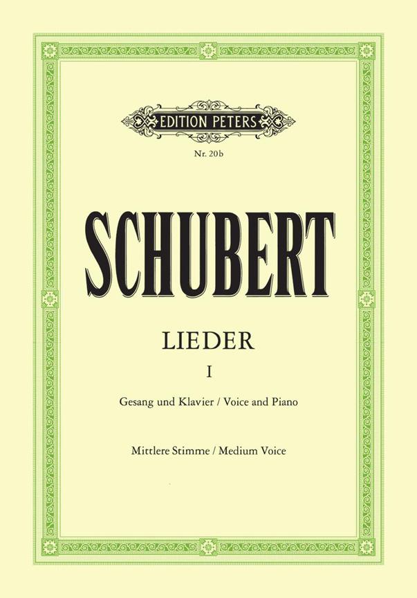 Franz Schubert: Lieder No. 1: Voice: Vocal Album