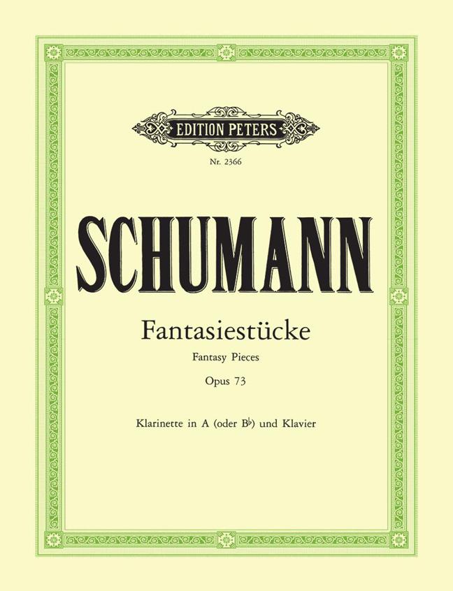 Robert Schumann: Fantasy Pieces Op.73: Clarinet: Instrumental Work