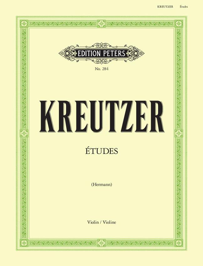 Rudolf Kreutzer: 42 Studies or Caprices: Violin: Instrumental Album