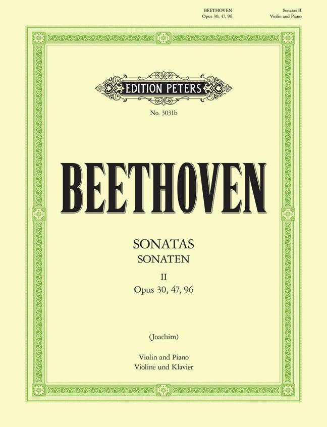 Ludwig van Beethoven: Complete Sonatas For Violin And Piano Vol. 2: Violin: