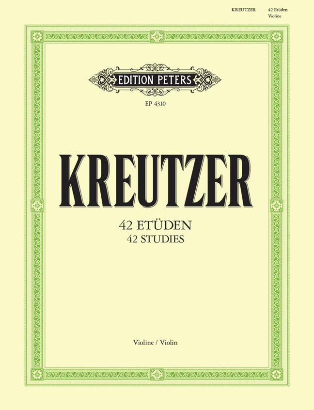 Rudolf Kreutzer: 42 Etudes (Caprices): Violin: Instrumental Album