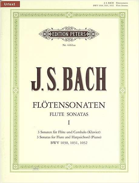 Johann Sebastian Bach: Flute Sonatas Vol.1: Flute: Instrumental Album