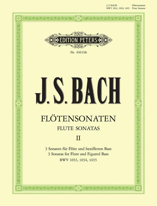 Johann Sebastian Bach: Flute Sonatas Vol.2 BWV 1033 - 1035: Flute: Instrumental