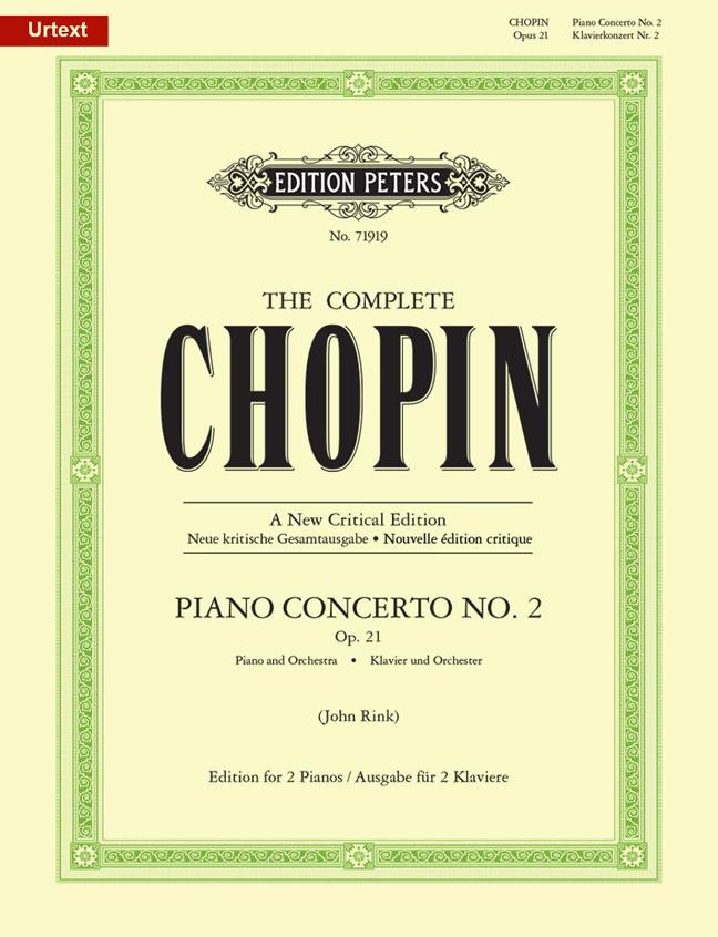 Frédéric Chopin: Piano Concerto No.2 In F Minor  Op. 21: Piano Duet: