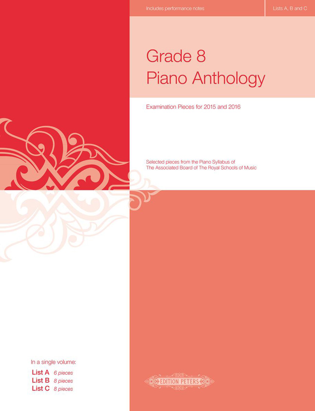 Various: Grade 8 Piano Anthology 2015/2016: Piano: Instrumental Album