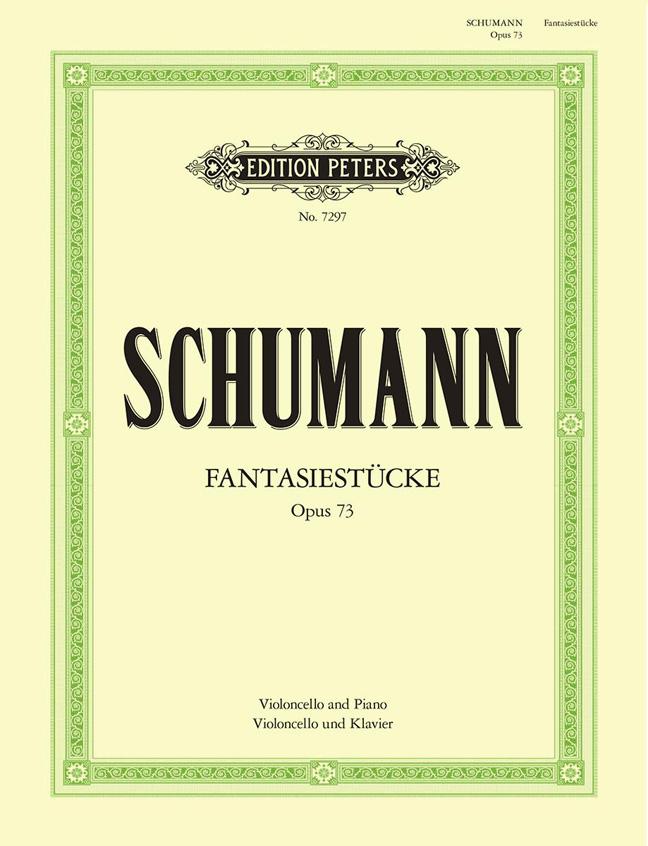 Robert Schumann: Fantasiestucke Op.73: Cello: Instrumental Work