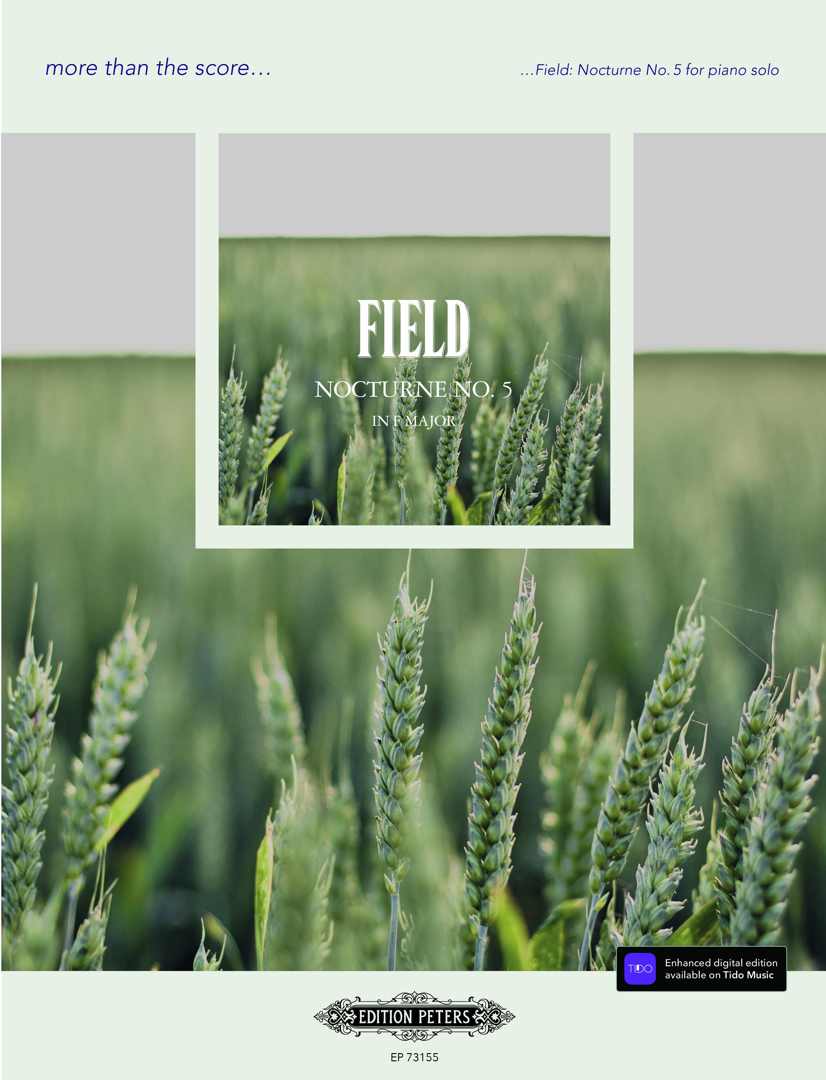 John Field: Field: Nocturne No. 5: Piano: Instrumental Work