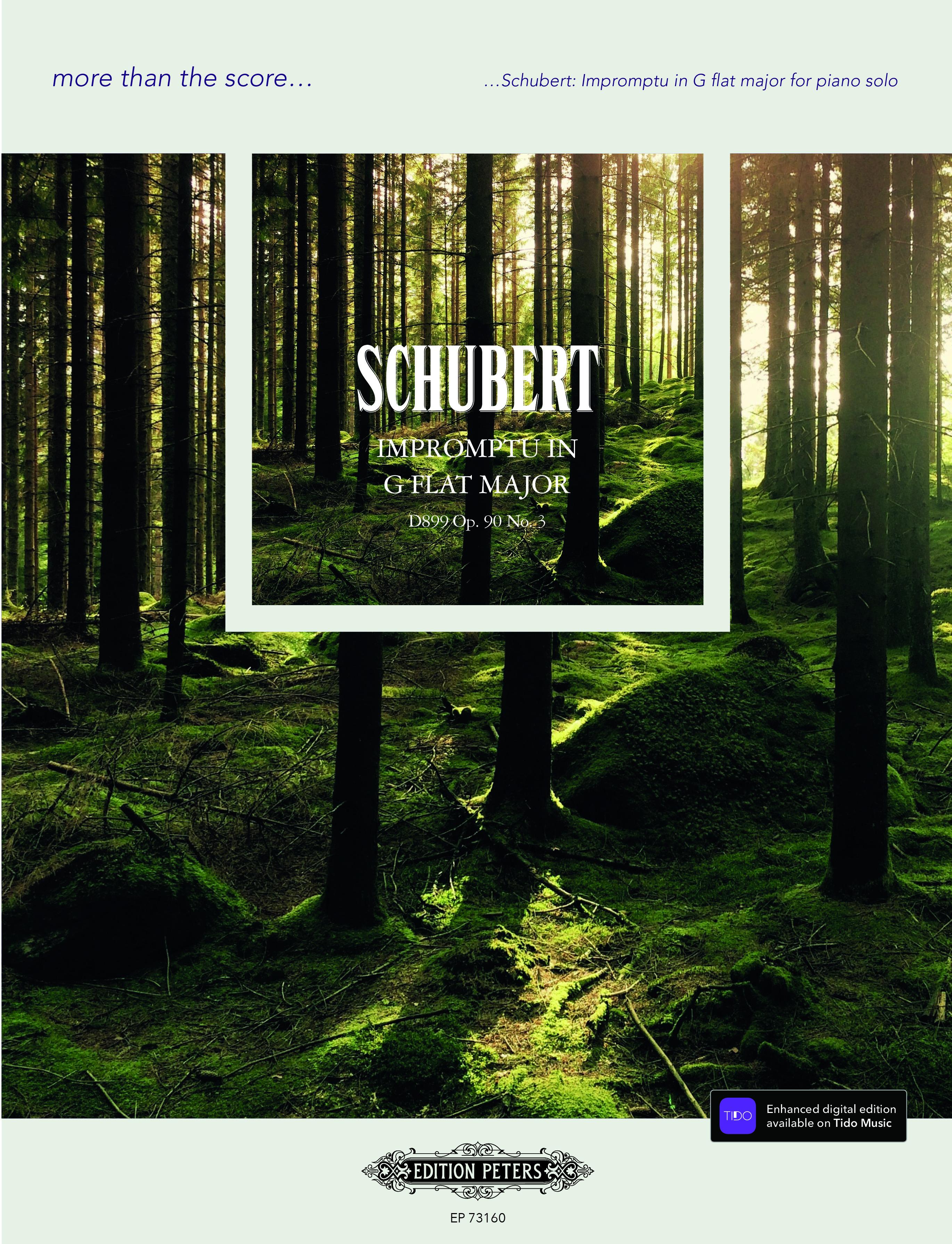 Franz Schubert: Schubert: Impromptu in G flat major: Piano: Instrumental Work