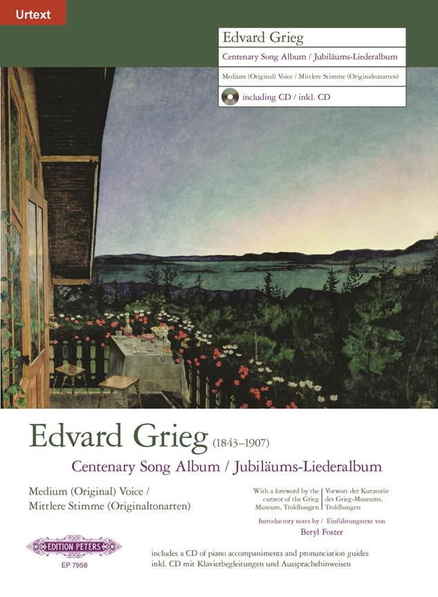 Edvard Grieg: Centenary Song Album: Voice: Mixed Songbook