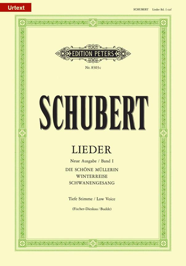 Franz Schubert: Lieder Volume 1 - Low Voice: Voice: Vocal Album