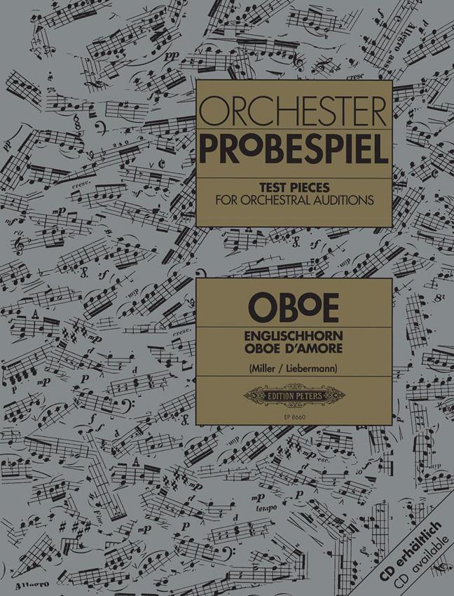 Orchester Probespiel Oboe: Oboe: Instrumental Work