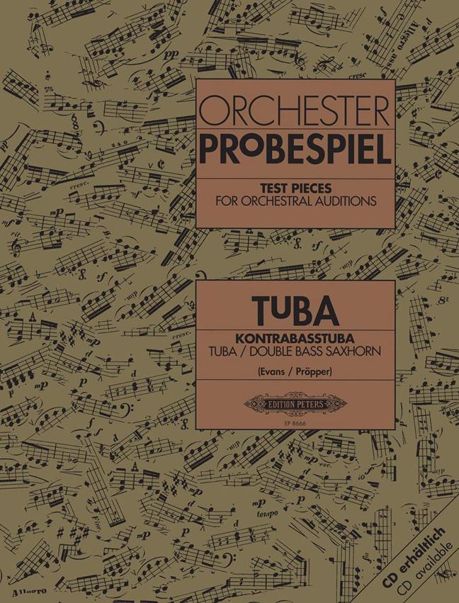 Orchester Probespiel Tuba: Tuba: Instrumental Album