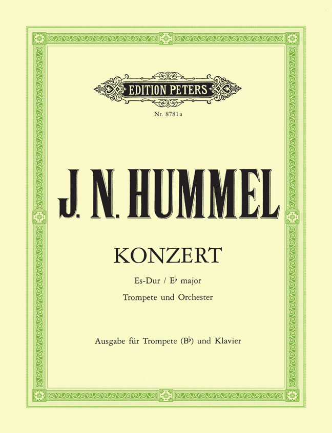 Johann Nepomuk Hummel: Trumpet Concerto Eb major: Trumpet: Instrumental Work