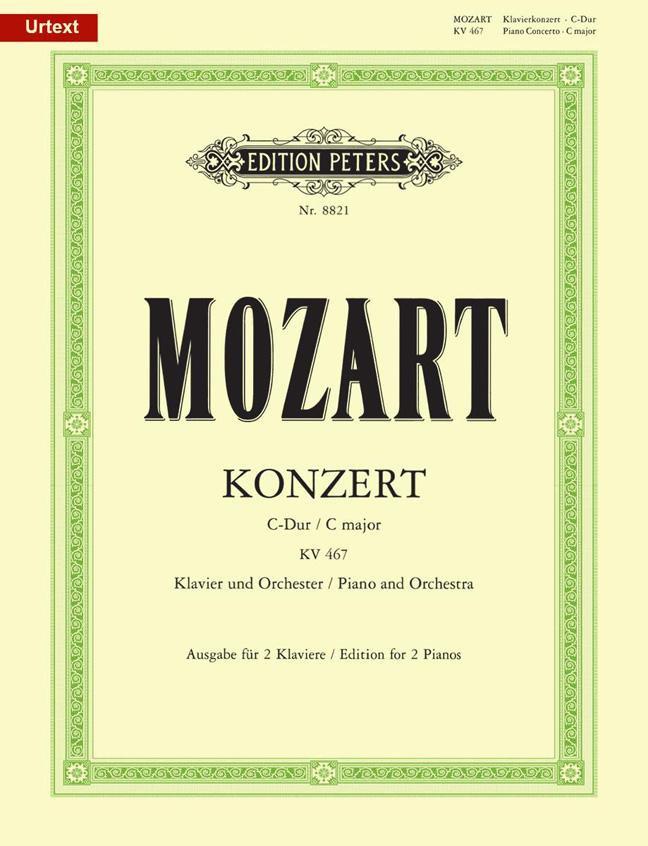 Wolfgang Amadeus Mozart: Concerto No.21 In C K467: Piano Duet: Instrumental Work
