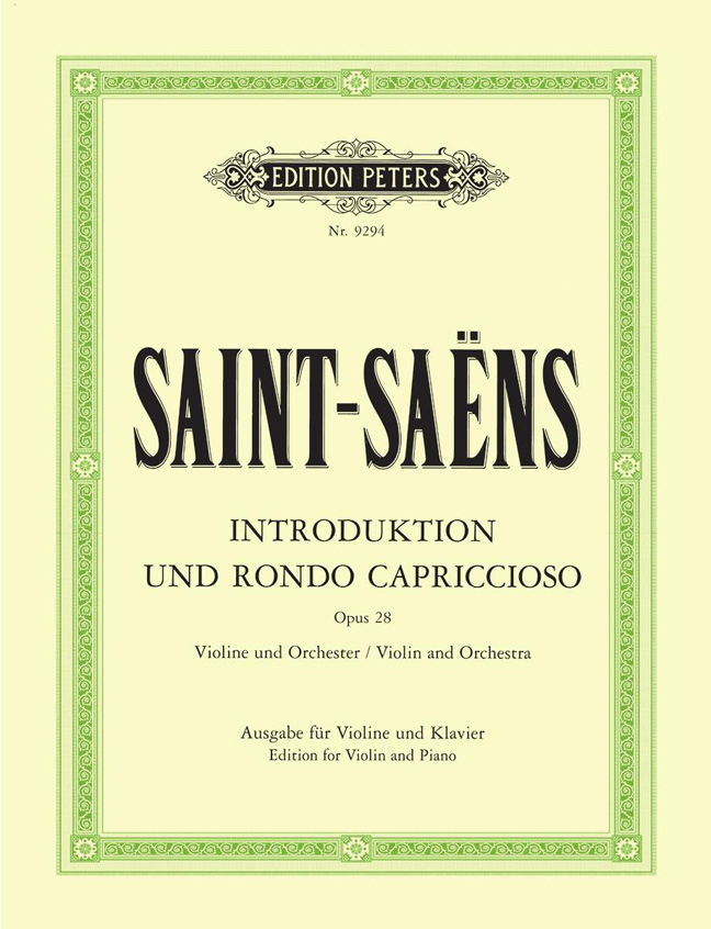 Camille Saint-Saëns: Introduction And Rondo Capriccioso Op.28: Violin: