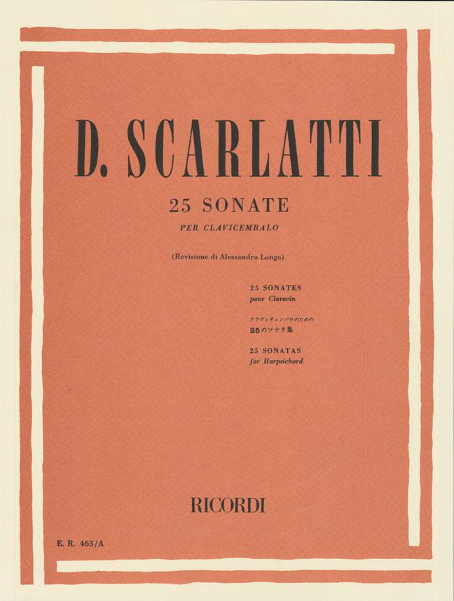 Domenico Scarlatti: 25 Sonate: Harpsichord
