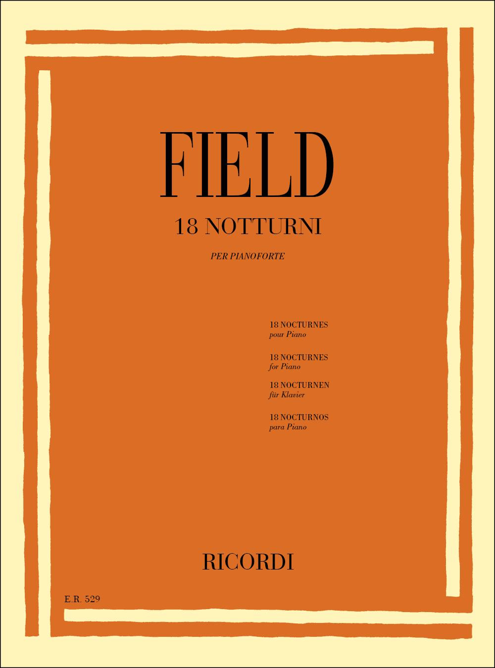 John Field: 18 Notturni: Piano
