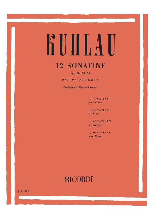 Friedrich Kuhlau: 12 Sonatine Op. 20  55  59: Piano