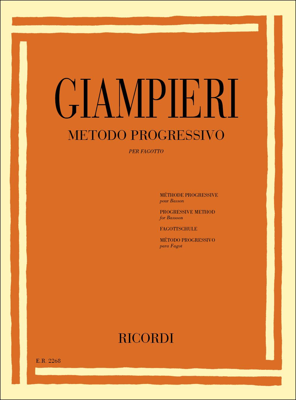 Alamiro Giampieri: Metodo Progressivo: Bassoon
