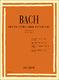 Johann Sebastian Bach: Piccoli Preludi E Fughette: Piano