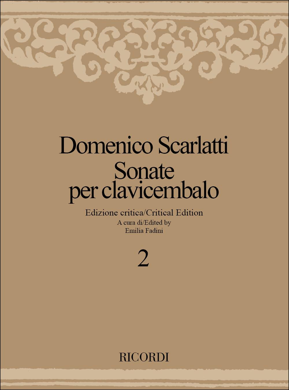 Domenico Scarlatti: Sonate Per Clavicembalo - Volume 2: Harpsichord