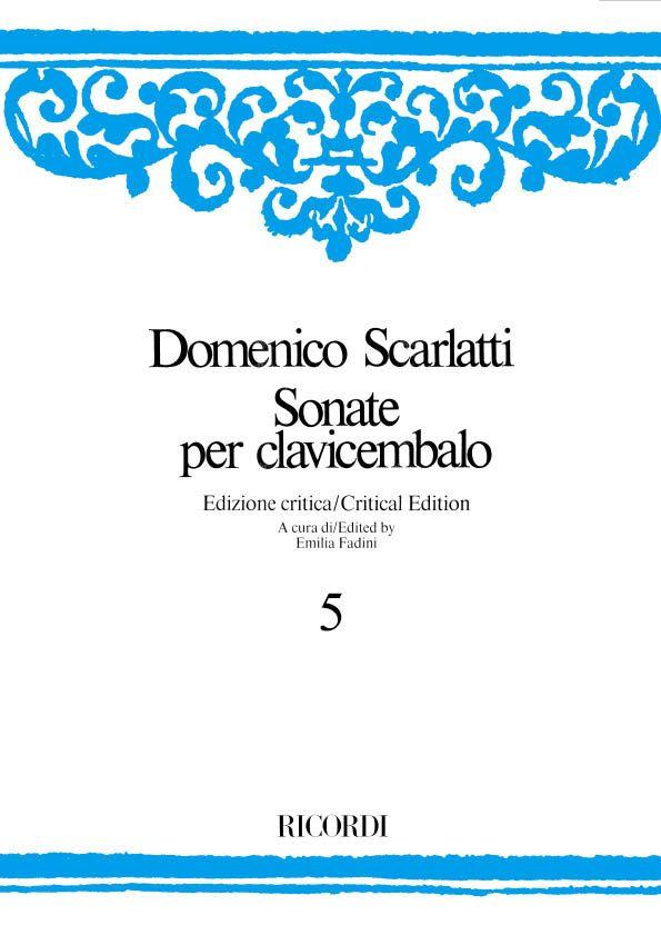 Domenico Scarlatti: Sonate Per Clavicembalo - Volume 5: Harpsichord