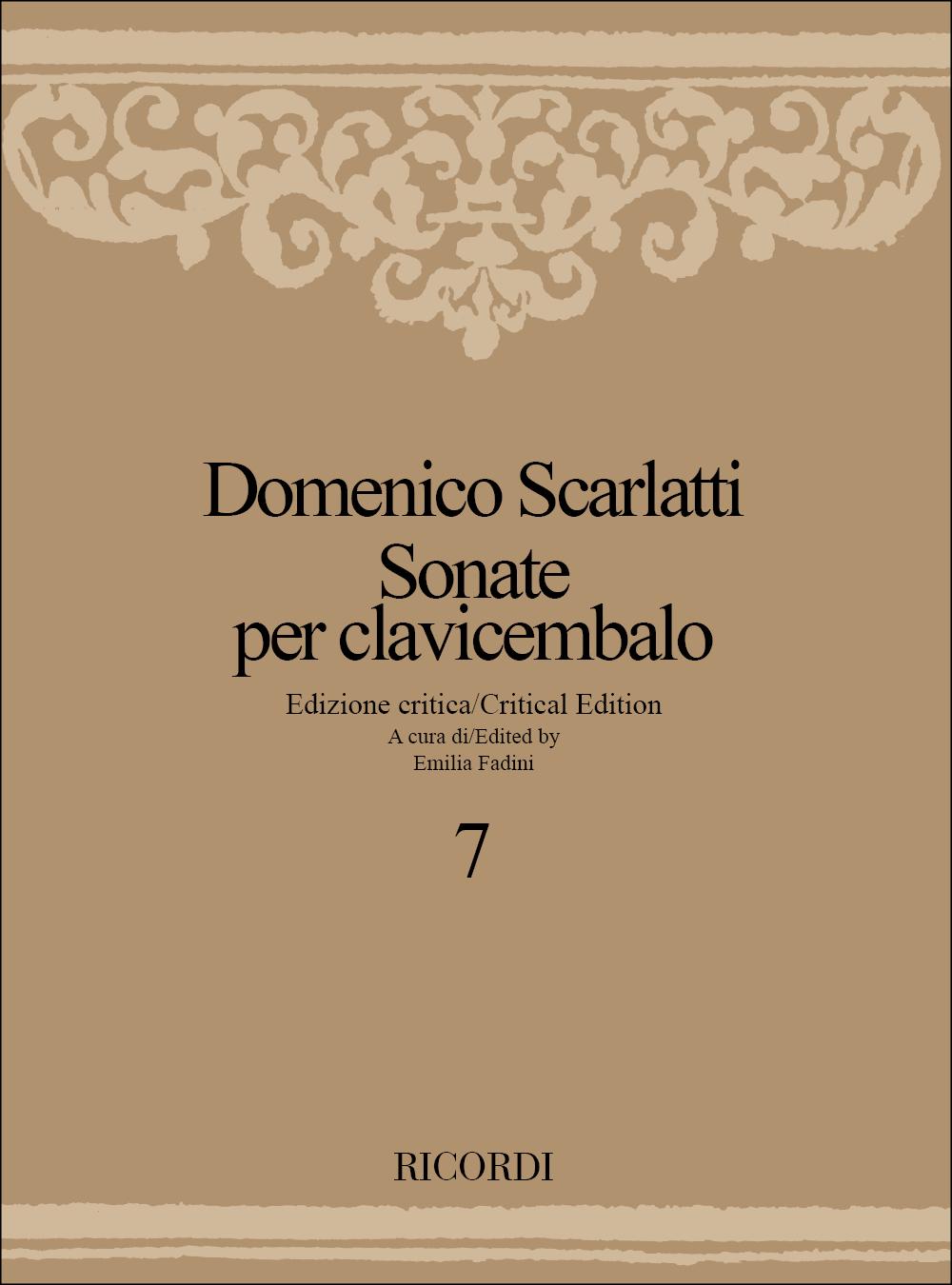 Domenico Scarlatti: Sonate Per Clavicembalo - Volume 7: Harpsichord