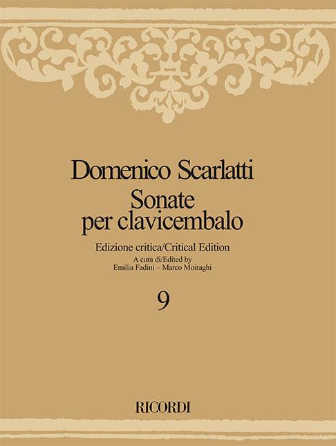 Domenico Scarlatti: Sonate per clavicembalo - Volume 9: Harpsichord