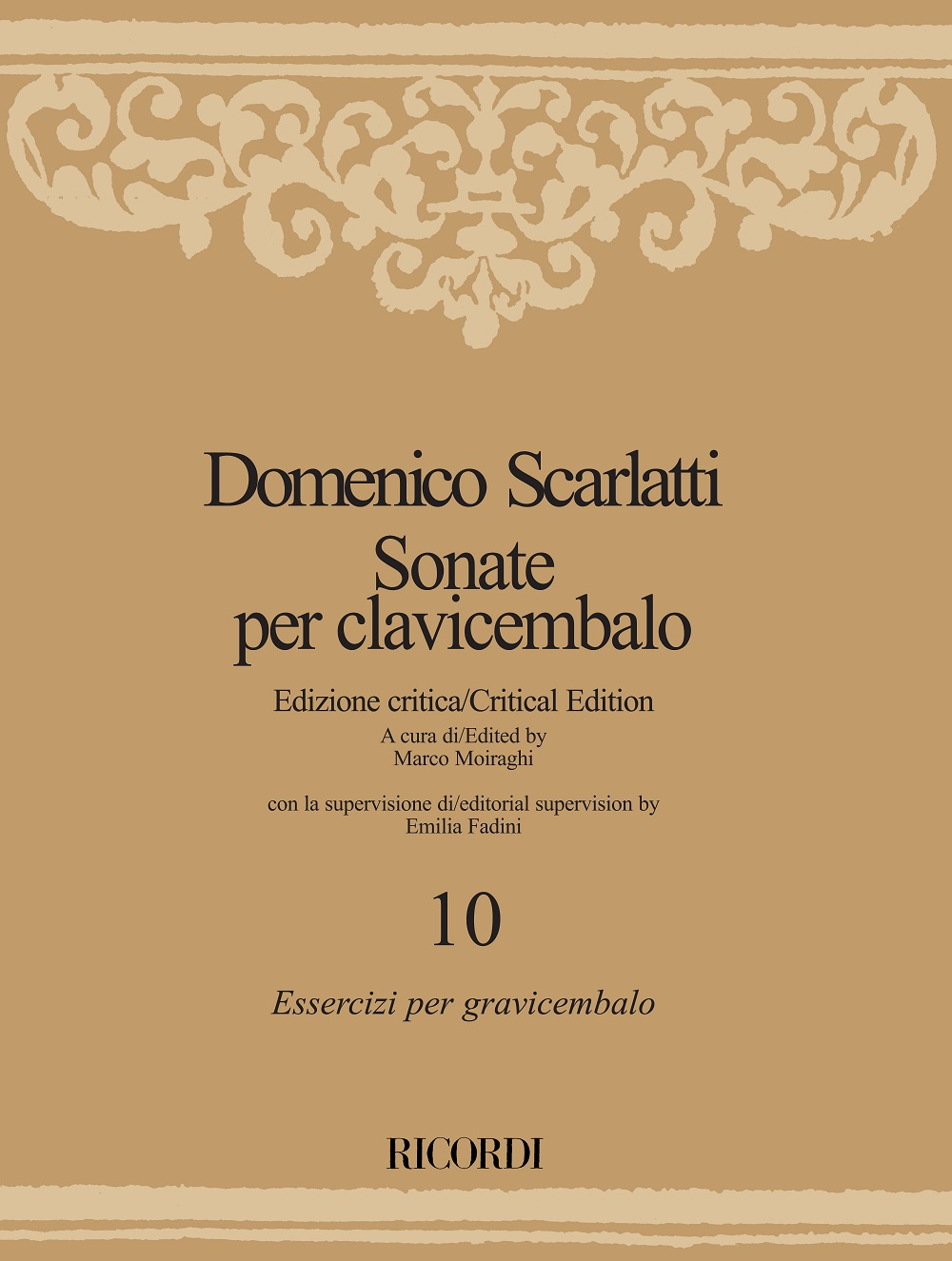 Domenico Scarlatti: Sonate per clavicembalo - Volume 10: Harpsichord:
