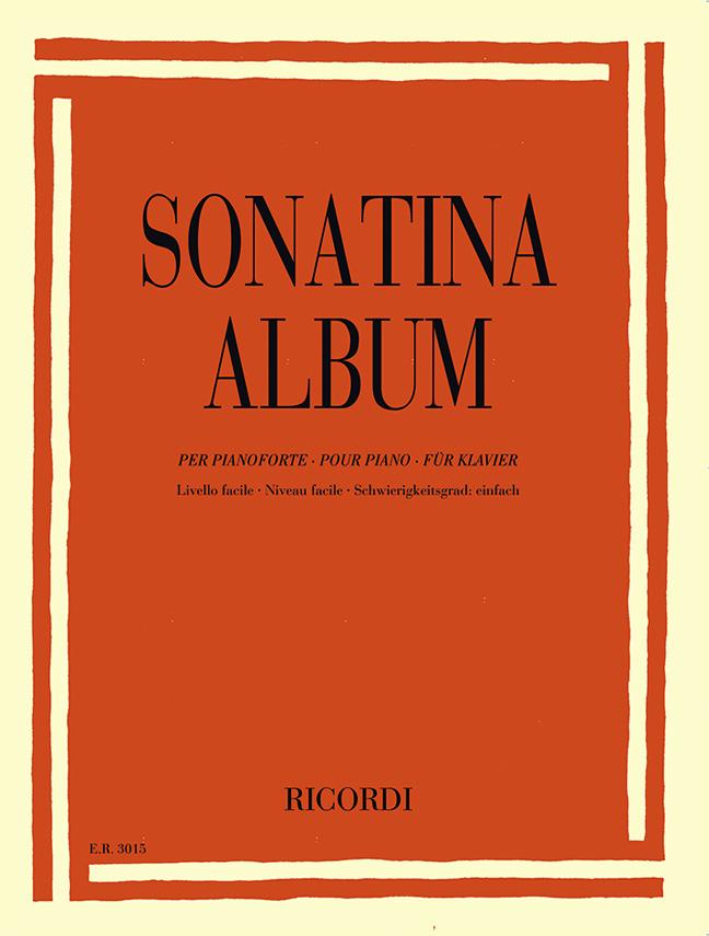 Sonatina Album (Easy): Piano