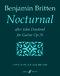 Benjamin Britten: Nocturnal After John Dowland For Guitar Op.70: Guitar: