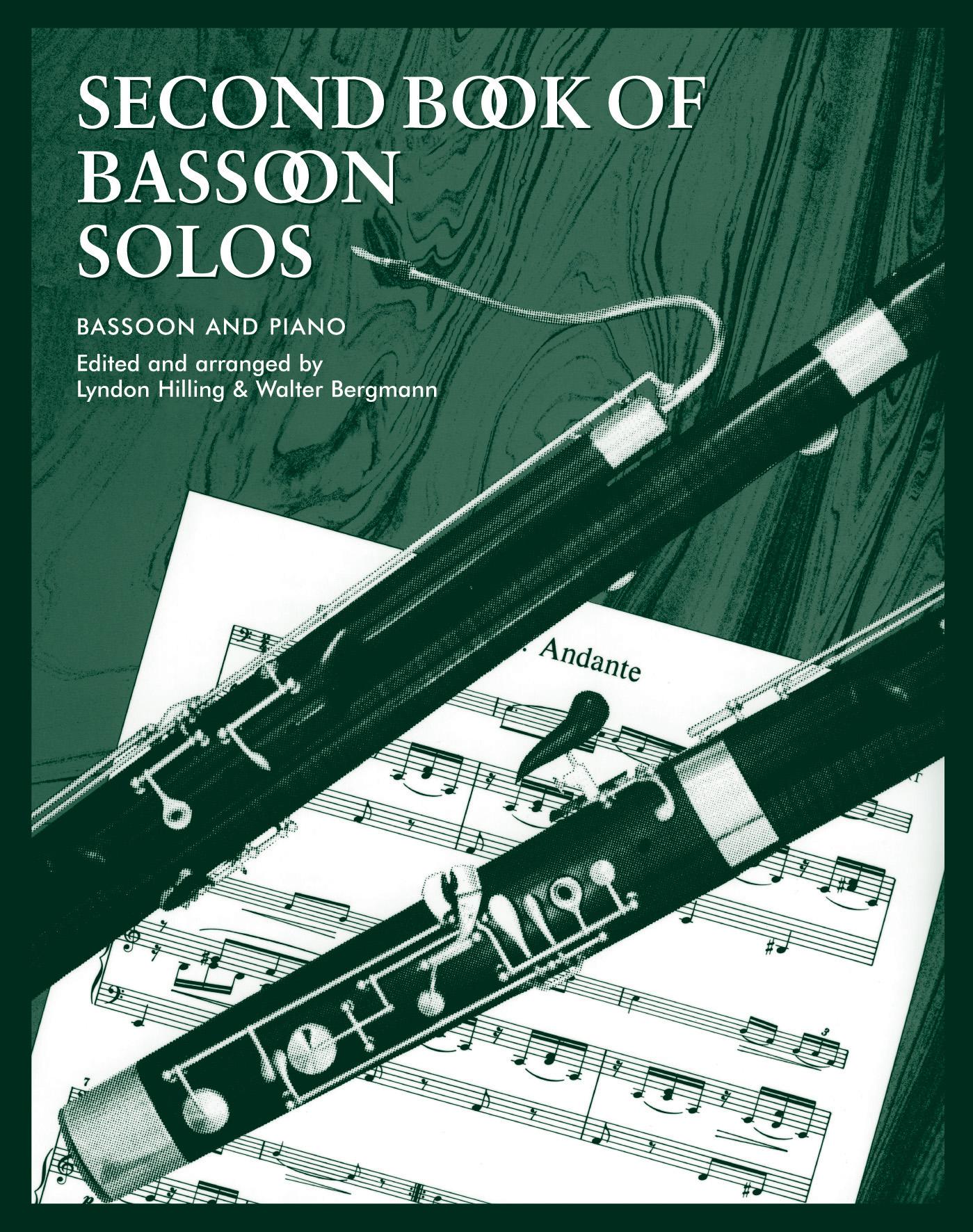 L. Hilling Walter Bergmann: Second Book of Bassoon Solos: Bassoon: Instrumental