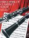 J. Davies P. Harris: First Book of Clarinet Solos: Clarinet: Instrumental Album