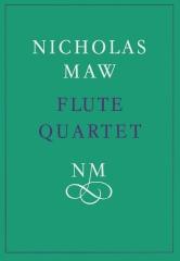 Nicholas Maw: Flute Quartet: Flute Ensemble: Score
