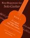 First Repertoire for Solo Guitar. Book 1: Guitar: Instrumental Album