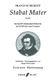 Franz Schubert: Stabat Mater D.175: Mixed Choir: Vocal Score