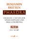 Benjamin Britten: Phaedra: Orchestra: Score