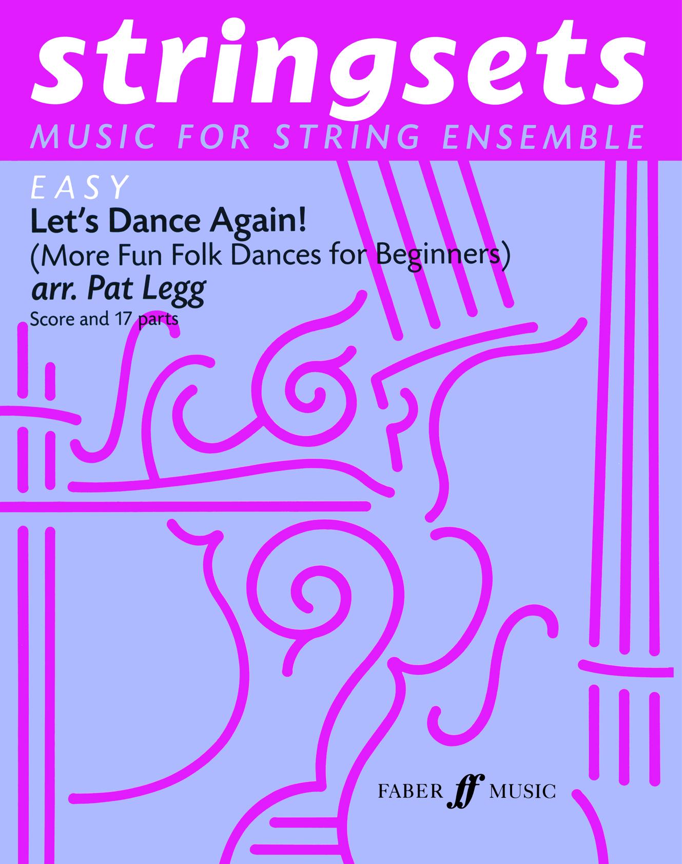 Pat Legg: Let's Dance Again! Stringsets: String Ensemble: Instrumental Album